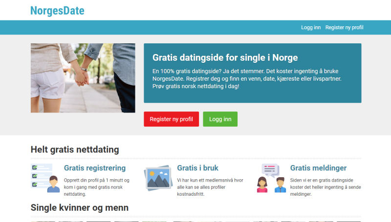 Norske datingsider gratis asian dating in atlanta